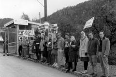 Demonstation mod NATO