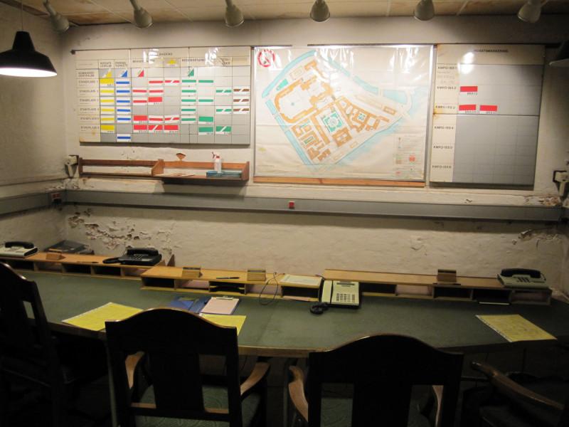 Kommandocentralen under Christiansborg
