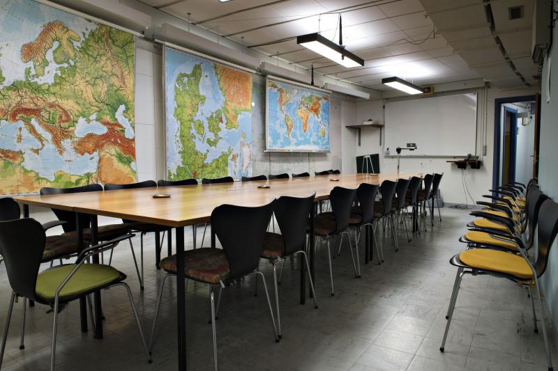Situationsrummet i Regan Vest