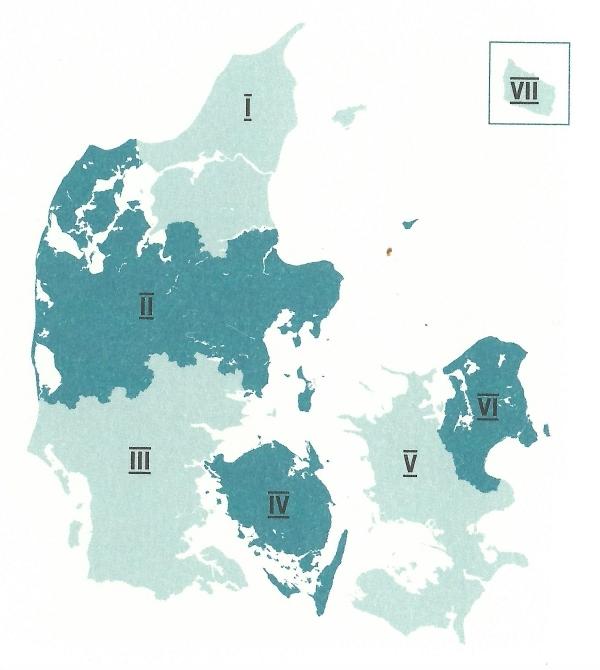 Totalforsvarets regioner
