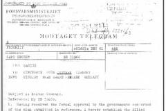 BALTAP telegram