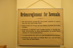 Ordensregler for sovesale