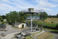 Tårn med luftmeldepost