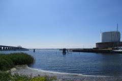 Den tidligere færgehavn